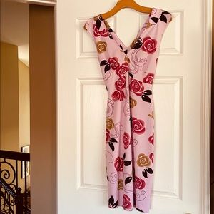 HOURGLASS ROSE DRESS